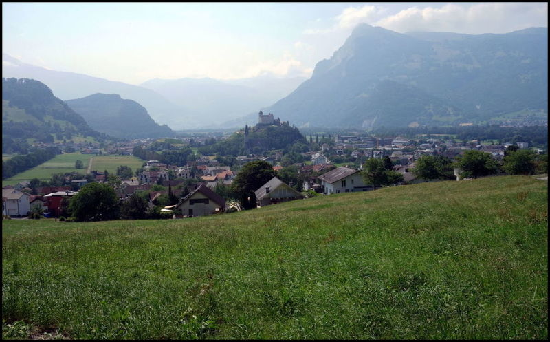 Balzers, seul village du Liechtenstein traversé