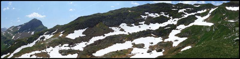 La neige se fait rare au vu de l'altitude et du début de saison