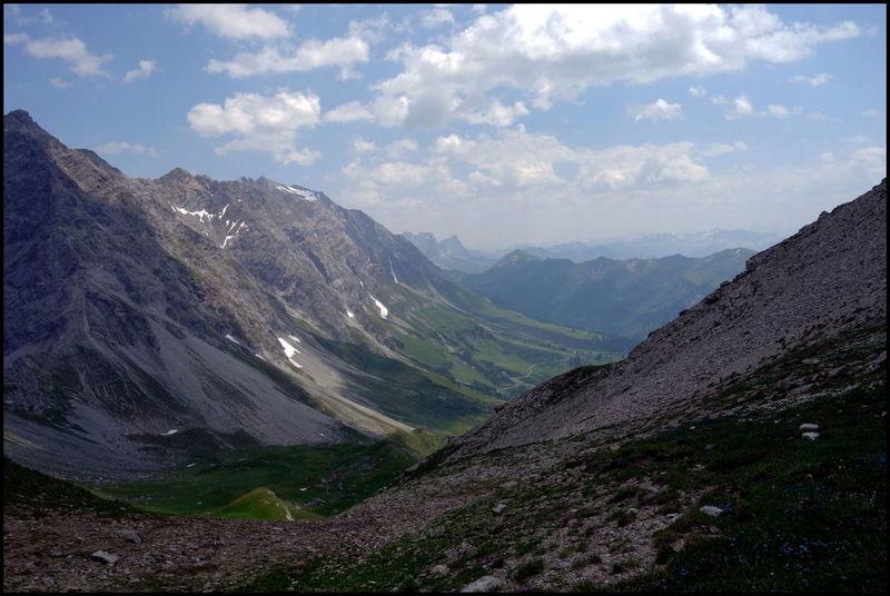 Longues traversées de vallées